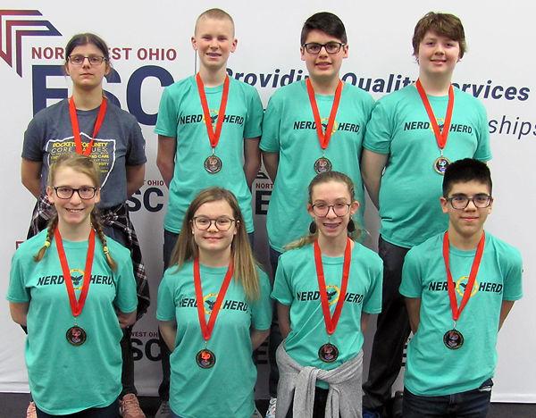 Junior varsity winners