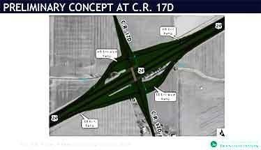 Interchange at 17D proposed