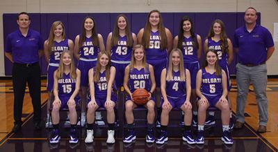 Holgate girls basketball