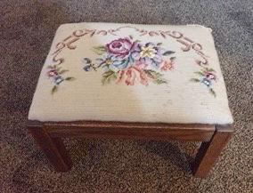 Hunting for vintage footstools