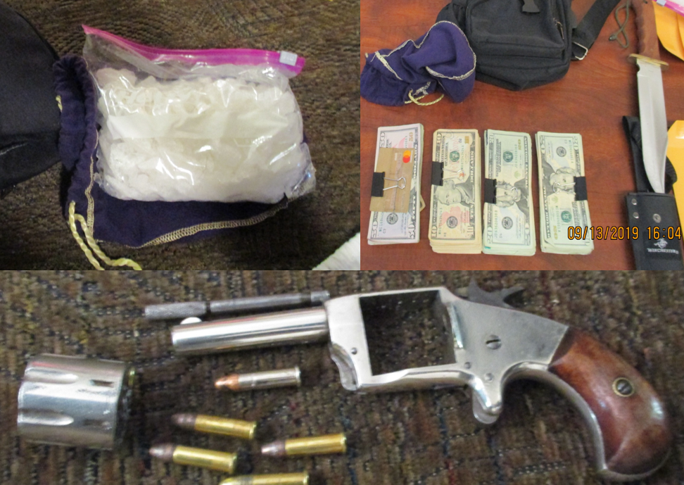 Drugs, money, guns seized by NP Police 9-16-19