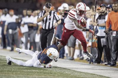 Huskers rally to win thriller over Illinois, 42-38