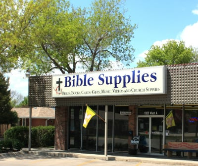 Bible Supplies Store Front