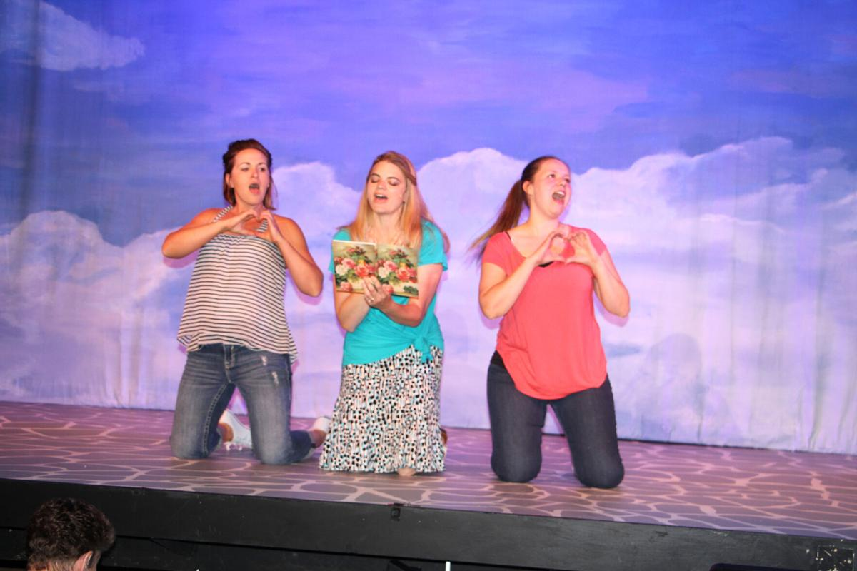 Cast ready to put on a show in 'Mamma Mia!' at the North Platte Community Playhouse