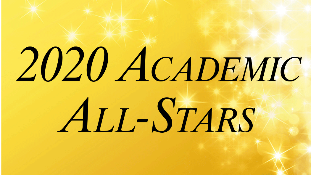 2020 Academic All-Stars logo