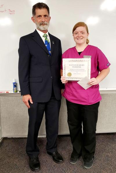 Vet tech student is Aksarben scholar