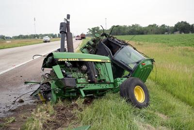 Tractor Driver Taken To Hospital After Highway 30