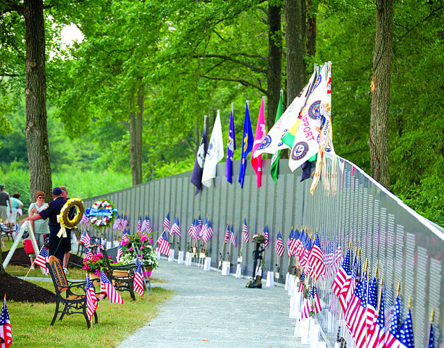 Anniversary of Vietnam War is remembered with traveling wall