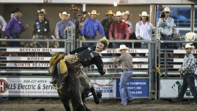 Records set on final night of Buffalo Bill Rodeo