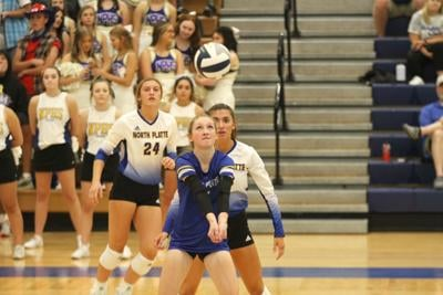 Lexington volleyball tops North Platte in four sets