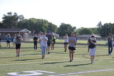 North Platte High School Marching Band soldiers on despite uncertain season