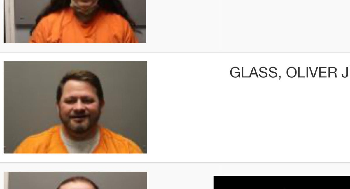 Dodge County Attorney Oliver Glass's booking photo