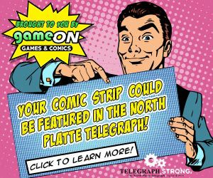 Your Comic Strip Could Be Featured In The North Platte Telegraph