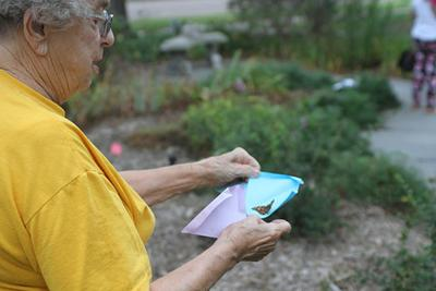 Support group honors memory of their children with butterfly release