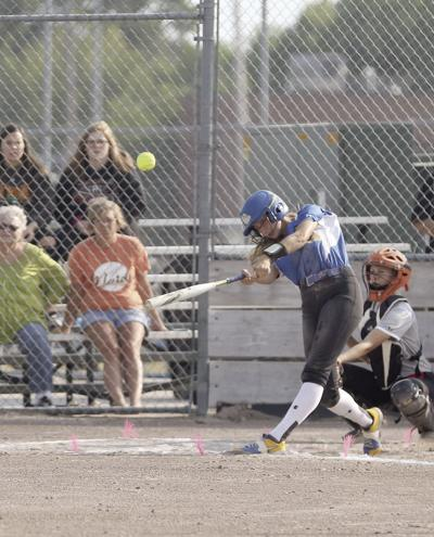 Abby Orr hits 2 homers, has six RBIs in NP's doubleheader split with Lex