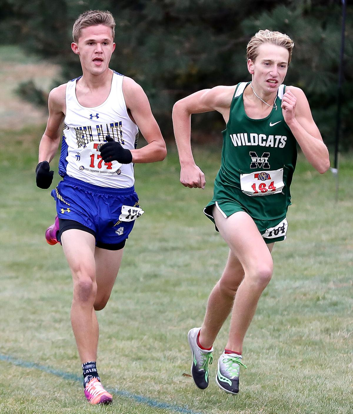 Evan Caudy finishes fourth in Class A at state cross country