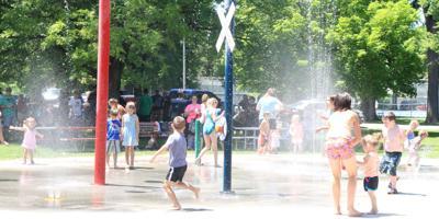 Splashes,  pops, cops and kids