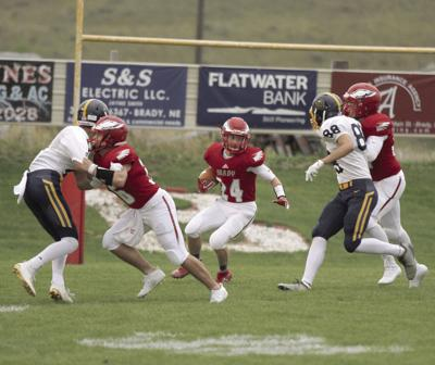 Eagles soar past Paxton 56-0