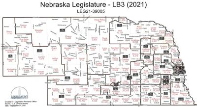 Nebraska Legislature advances redistricting proposal that would move District 36 east