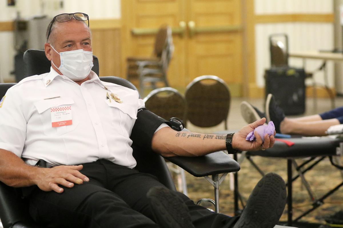 Law enforcement wins annual Battle of the Badges blood drive