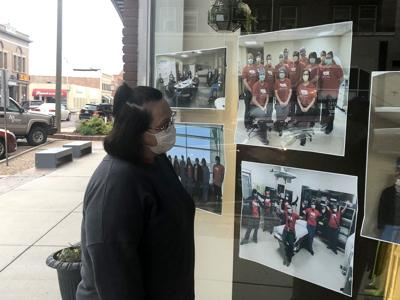 A message of thanks: Health care workers honored downtown