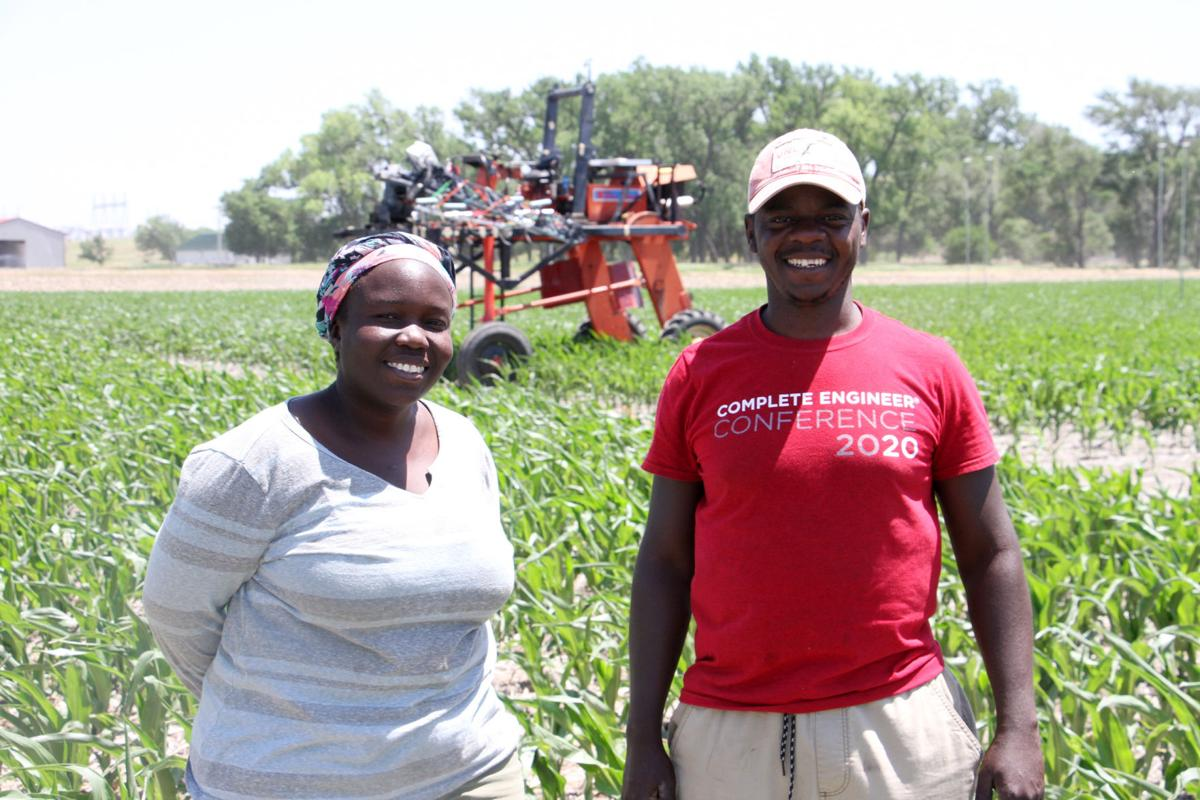 Two students at West Central Research and Extension Center plan use their education to help their home country, Uganda