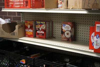 Area Food Pantry Short On Produce Local News Nptelegraph Com
