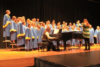 NPHS hosts annual in-house music contest