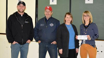 Safe driving fuels Walmart Distribution Center Private Fleet donation