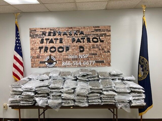 Indiana man faces two felonies after high-grade methamphetamine, 146 pounds of marijuana found in his car