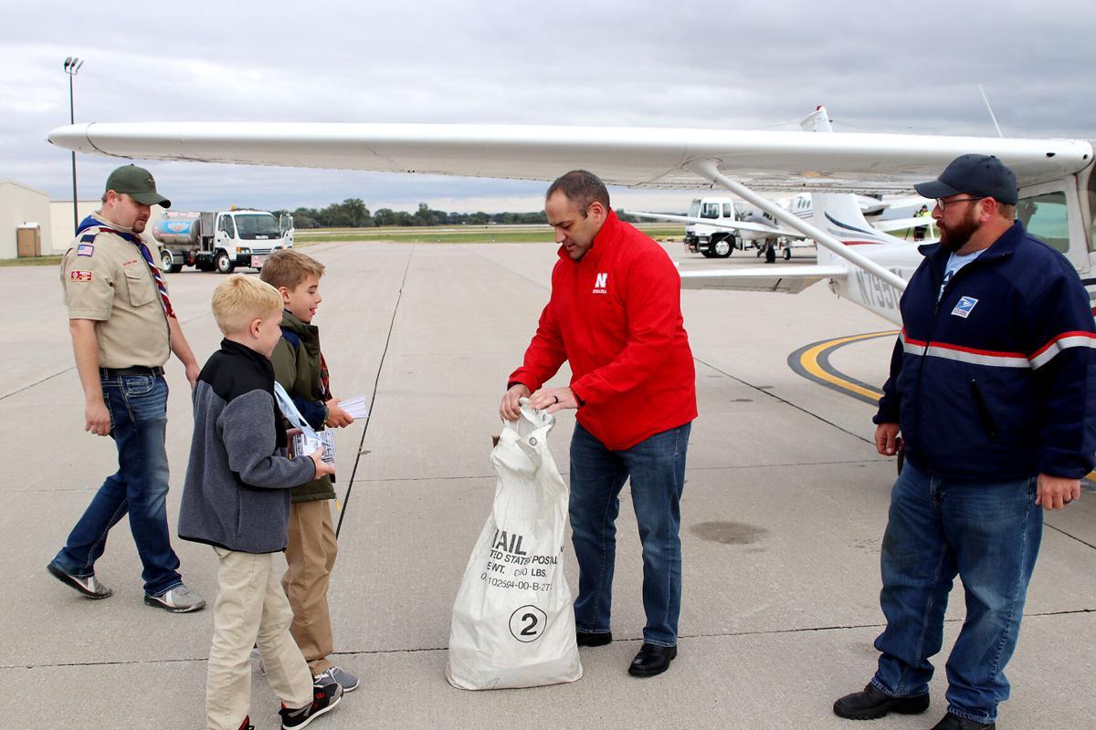 Watch now: Air Mail 100 lands in North Platte