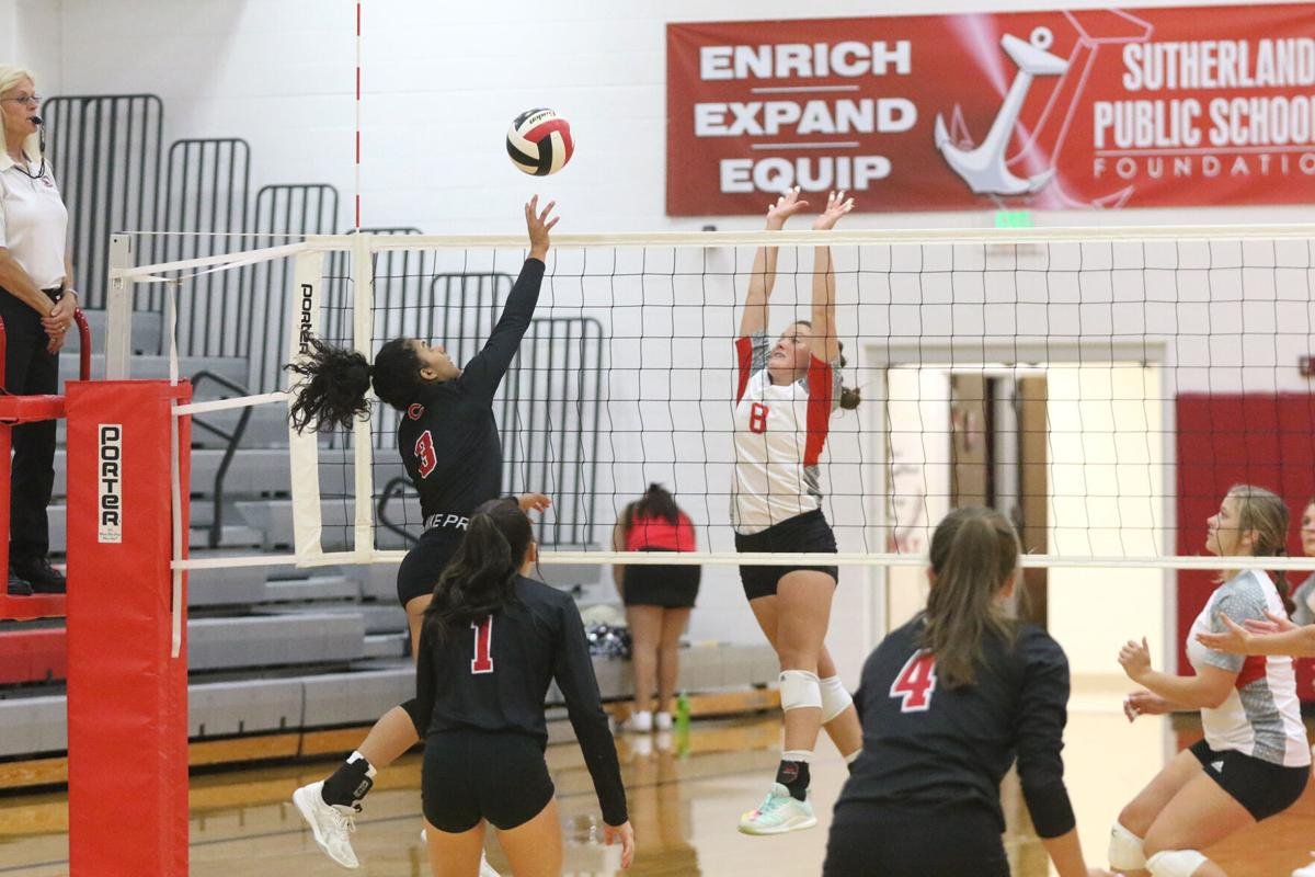 Sutherland volleyball defeats Cozad, Maxwell at home Tri