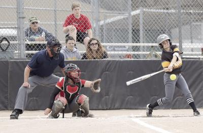 Clear skies, full swings, can't lose: NPCC finally gets a break on the weather, sweeps Northwest Kansas Tech in pair of high-scoring games