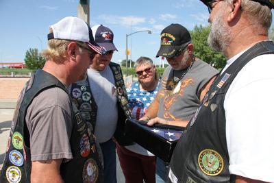 Annual Patriot Tour motorcycle ride stops in North Platte