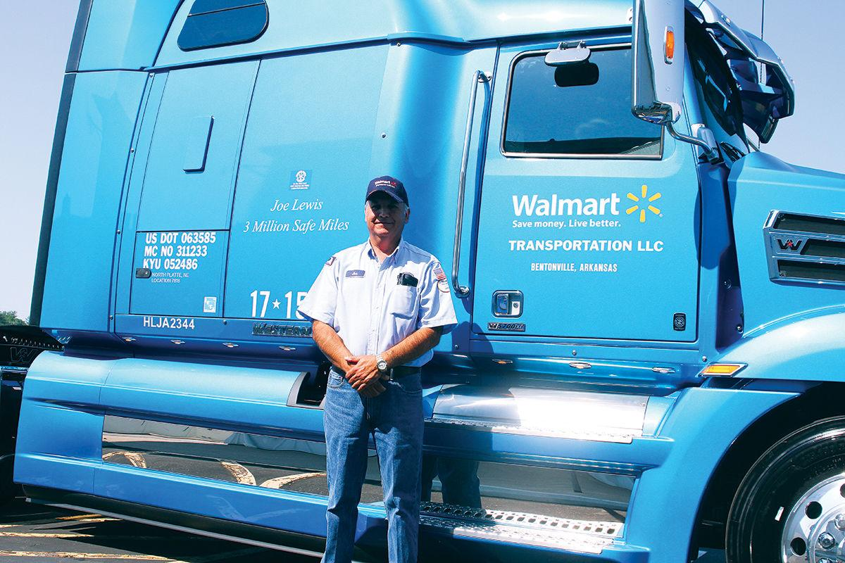sutherland wal mart truck driver makes 3 million safe miles local news. Black Bedroom Furniture Sets. Home Design Ideas