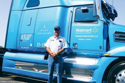 Sutherland Wal-Mart truck driver makes 3 million safe miles