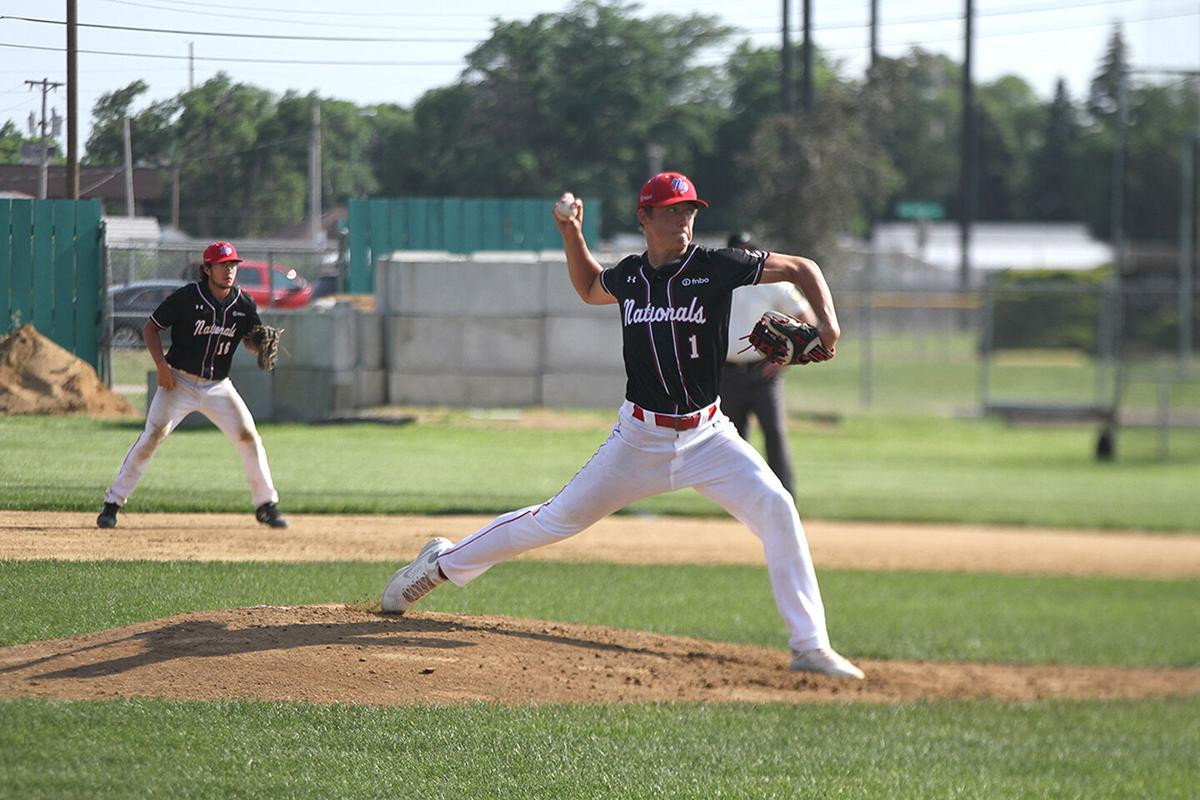 FNBO Nationals seniors fall to Scottsbluff in first game of doubleheader