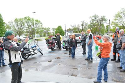 Eagle Riders make pit stop in North Platte