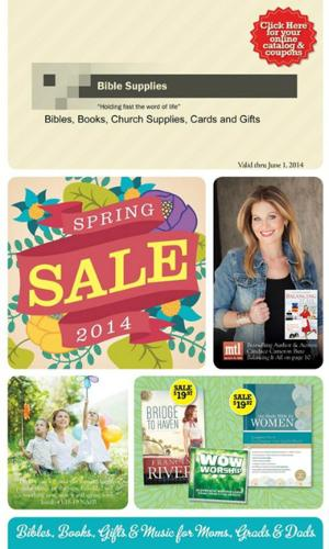 Bible Supplies | Spring Sale Items