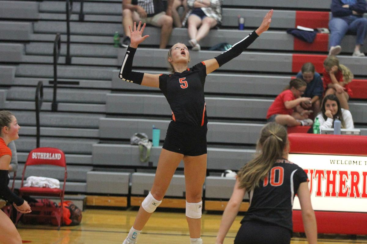Chase County volleyball sweeps Southwest, wins Sutherland Invite