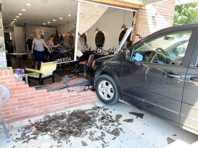 Vehicle crashes through front of North Platte salon