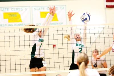 Gothenburg volleyball sweeps St. Pats