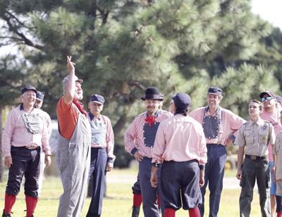 Buffalo Bill Ranch hosts annual vintage baseball games