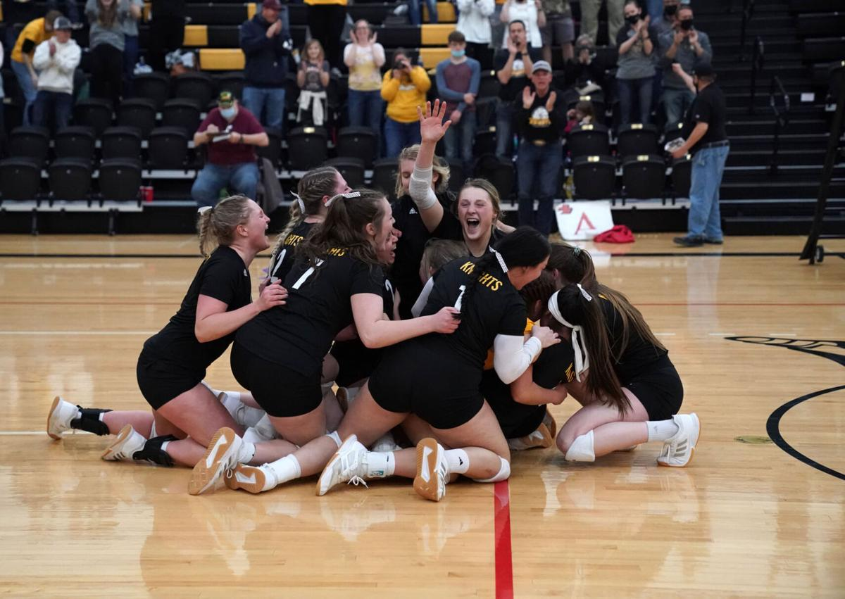 NPCC Knights volleyball qualifies for nationals