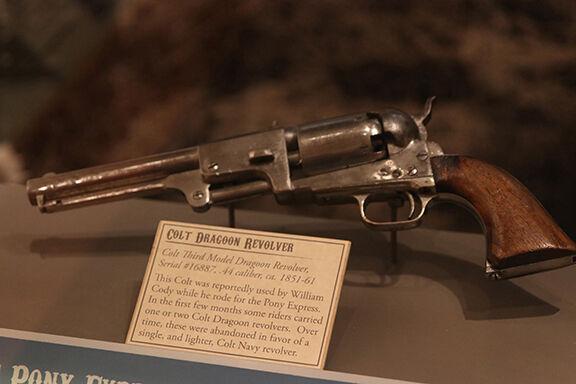.44 caliber Colt Dragoon Revolver