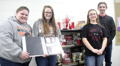 Maxwell FCCLA participants preparing for state competition