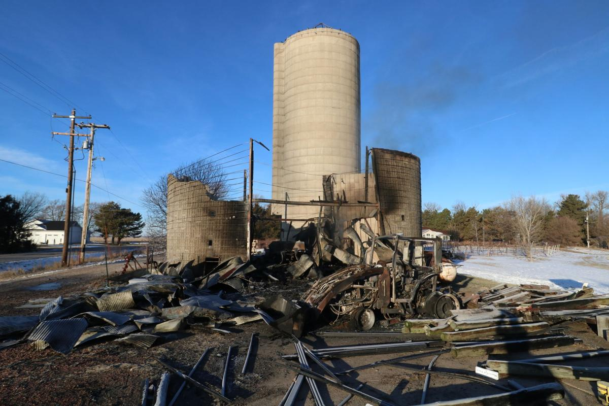 Fire destroys shed, equipment at Mac's Creek Winery