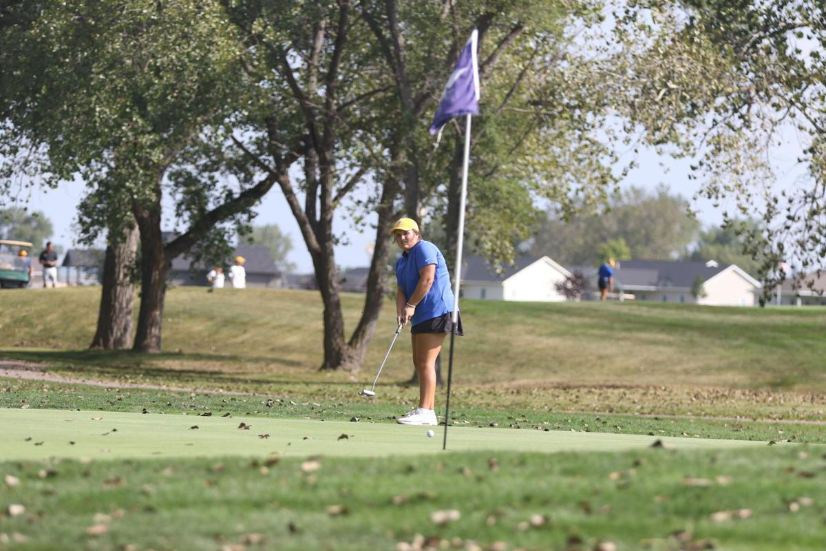 Tee for two: Lady Dawgs win dual against McCook