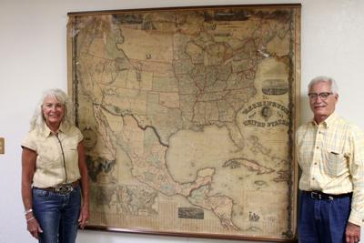 A sliver in time: Couple donating 1861 map to Lincoln County Historical Museum