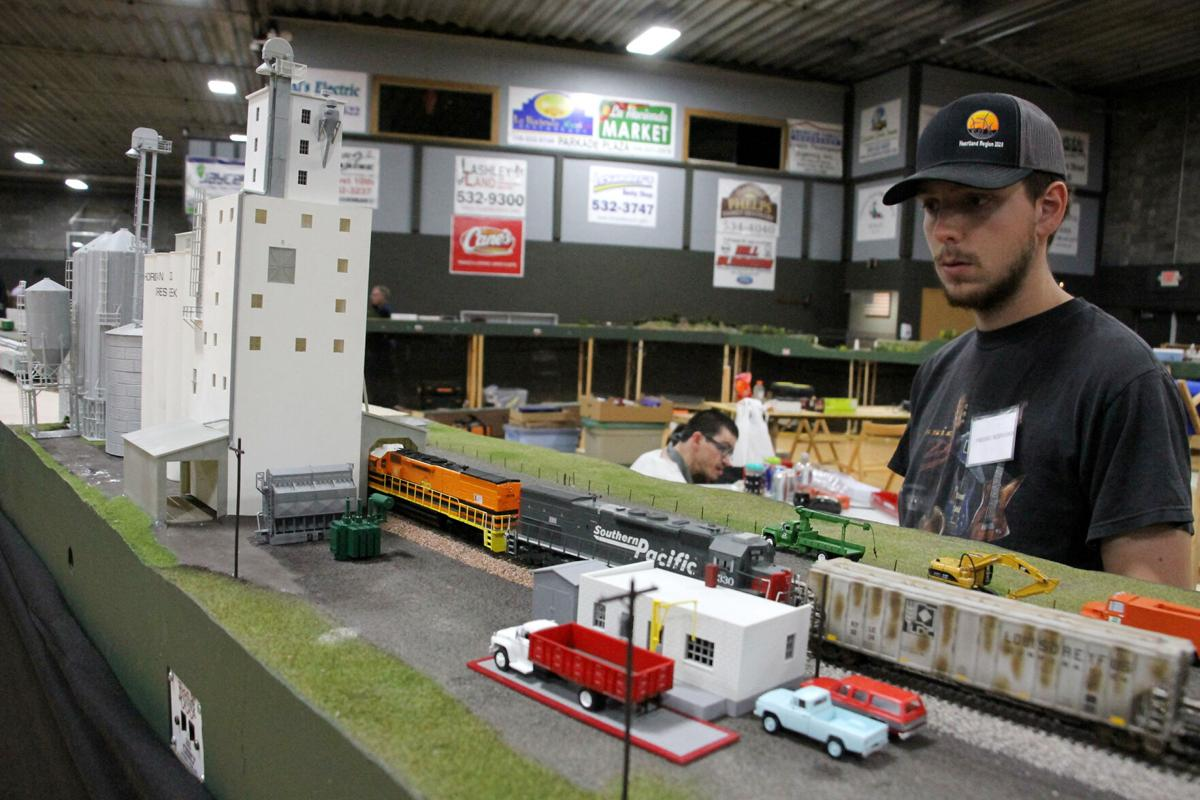 Model train show keeps rolling at D&N Event Center
